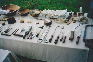 Revolutionary War Surgical Instruments